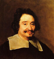 Nice Oil painting Diego Velazquez - Male portrait Miguel Angelo handpainted