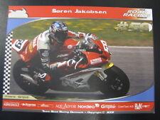 Team Road Racing Denmark Yamaha R6 Dunlop Cup 2007 #69 Soren Jakobsen (DEN)