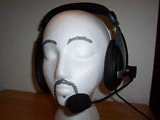 AUDIO -COMM   HEADSET  MIC  FOR  YAESU  MODULAR   HF