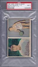1951 Berk Ross Doubles Set Ashburn - Cousy PSA 7
