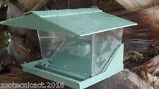 Casetta mangiatoia per voliera gabbia per esterno interno plastica uccelli xxl