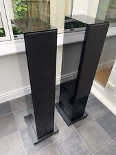 Boxed! B&W CM8 Bowers & Wilkins 150W Floor Speakers Audiophile Piano Black