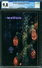 The Matrix: Comic Book Preview #nn 9.8 Warner 1999 Recalled! Rare! L8 223 cm