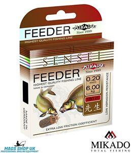 FISHING LINE MIKADO ''SENSEI FEEDER'' 150 METERS, ALL DIAMETERS, CARP, BREAM