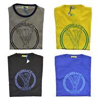 Maglia Maglietta T-Shirt Girocollo VERSACE JEANS T-Shirt Crew Neck Uomo Man B3GF