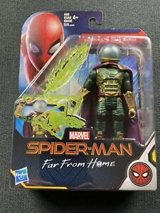 "Hasbro Marvel Spider-Man Far From Home Mysterio 5"" Figure 2018 Mint In Box HTF"