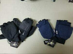 New Mens Athletech Thinsulate 3M Winter Fleece Glove Mittens.