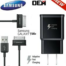For OEM Samsung Galaxy Tab 2 7.0 7.7 8.9 10.1 Note Tablet Wall Charger USB Cable