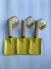 Kid Garden Shovel Yellow Outdoor Kit snow shovel 3pcs