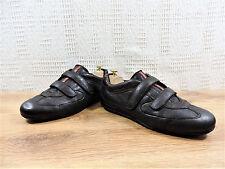 Guante De Prada Para hombre Marrón Cuero Suave Zapatos Deportivos Zapatos Entrenador UK 8 nos 9 EU 42
