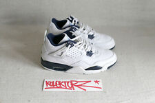 NIKE AIR JORDAN IV 4 RETRO + MIDNIGHT NAVY 9US 42.5 DS LTD RARE TZ LASER JUMPMAN