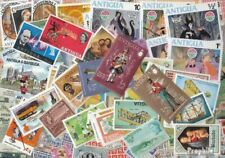 Antigua en Barbuda Antigua en Barbuda Postzegels 400 verschillende Postzegels