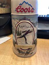 COORS ROCKY MOUNTAIN LEGEND Beer STEIN Mug