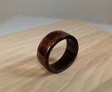 Espresso Brown Dyed Birch Wood Ring ~ Bentwood Ring ~ Handmade To Order ~ Unisex
