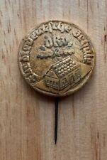 Original WW2 German DKV German Schools Sudetenland pin, Wood and stickpin
