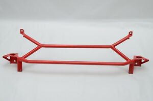 FRONT POWER BRACE FRONT RADIATOR SUPPORT BRACE MITSUBISHI EVO 7 8 9 Red BLEMISH