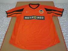 Nike Valencia FC Metro Red soccer jersey shirt vtg