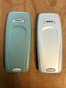 GENUINE ORIGINAL NOKIA BACK BATTERY COVER - NOKIA 3410 MOBILE PHONES - 2 COLOURS