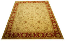 Real Rug Brick Manufacture 290x252 CM 100% Wool Hand Knotted Red Beige