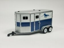 Horse Trailer W/ Hitch Collectible 1:64 Scale Diorama Model