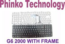 New Keyboard For HP Pavilion G6-2000 Series, Black with Frame 699498-001
