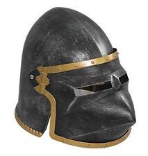 Houndskull Pigface Helmet plastic knight castle costume novelty