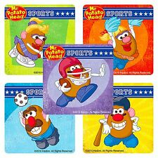 Mr Potato Head Stickers x 5 - Birthday Party Supplies Favours - Sports Motivate