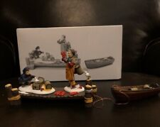 Dept 56 Heritage Village Collection.Lobster Trappers.w/Box