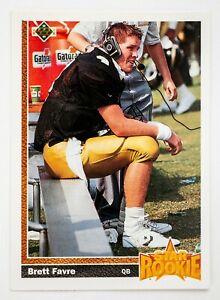 Brett Favre #13 (1991 Upper Deck) Football Rookie Card, Atlanta Falcons