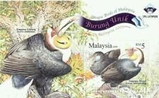 [SJ] Unique Birds Of Malaysia 2009 Fauna Wildlife (ms o/p) MNH *emboss *unusual