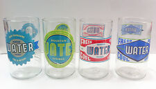 Tumblers 8oz Made From Bottles Upcycled Glass Water/Juice
