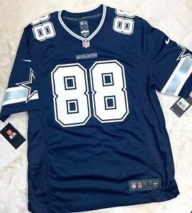 Dallas Cowboys DEZ BRYANT Nike #88 Jersey Navy Mens Size Large L MSRP $100