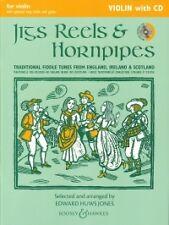 JIGS REELS & HORNPIPES Huws Jones VIOLIN + CD*