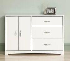 Clothes Dresser 3 Drawers Storage Organizer Kids Sauder White Bedroom Furniture
