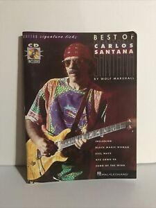 Best Of Carlos Santana Tablature Book