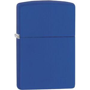 Zippo Regular Matte Pocket Lighter - Royal Blue