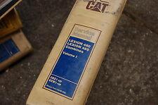 Caterpillar LEXION 480 485 Combine Service Manual repair CAT engine shop book