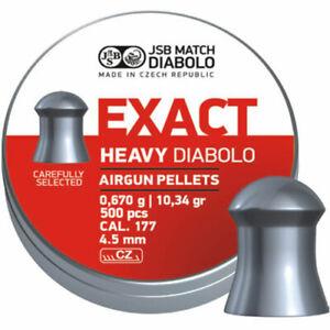 JSB Match Diabolo - Exact Diabolo Heavy - .177 - 4.51 & 4.52 - 10.34gr