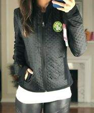 NBA Boston Celtics Zip Textured Performance Jacket, Women's M Black