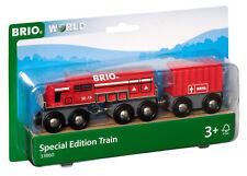 33860 BRIO Red Engine Double Bogie Train Wooden Railway Special Edition Age 3+