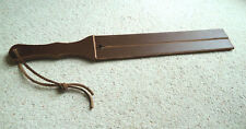"NEW 2 tail HD Leather TAWSE - 20"" x 2½ "" - 8mm thick  double thick handle (cane)"