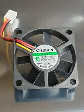 1 x Sunon Cooling Fan 45x45x10mm MagLev 3 Pin Vapo Bearing KDE1245PFV1