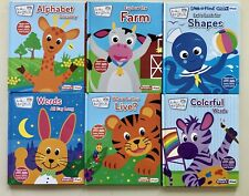Baby Einstein, My First Smart Pad, Hardcover Books, Lot of 6