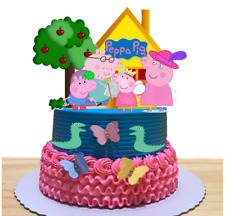Peppa Pig Stand Up Cake Toppers