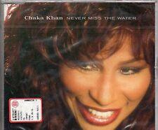 CHAKA KAHN CD single 6 tracce NEVER MISS THE WATER 1998 sigillato SEALED