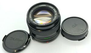 CANON FD 50mm F/1.4 Prime manual Lens in EXCELLENT condition