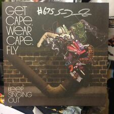 "GET CAPE, WEAR CAPE, FLY - Keep Singing Out - 7"" Vinyl - SIGNED by SAM DUCKWORTH"