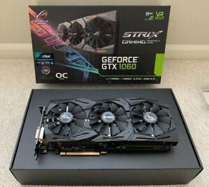 ASUS ROG Strix GeForce GTX 1060 6GB GDDR5 Graphics Card
