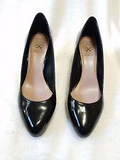 Vince Camuto Desti Black Patent Leather Pump/Heels Women 7.5M?? MINT