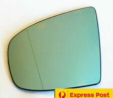 Left side mirror glass to suit BMW X5 E70 2007-2013 Heated Convex blue with base